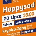 [Krynica – Zdrój]: Hej Fest – Happysad