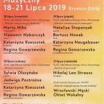 [Krynica – Zdrój]: XVII Letni Festiwal Muzyczny