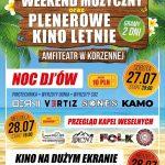 [Korzenna]: Weekend muzyczny & Plenerowe Kino Letnie