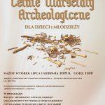 [Muszyna]: Letnie warsztaty archeologiczne