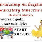 [Podrzecze]: Bezpłatne wakacyjne warsztaty taneczne
