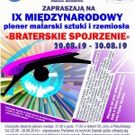 [Krynica – Zdrój]: Braterskie Spojrzenie – IX Międzynarodowy plener malarski, sztuki i rzemiosła