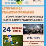 [Piwniczna Zdrój]: Letni Turniej Piłkarsko – Siatkarski