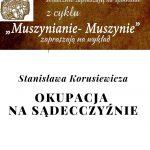[Muszyna]:Muszynianie – Muszynie: Okupacja na Sądecczyźnie – Stanisław Korusiewicz