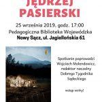 Jędrzej Pasierski – spotkanie autorskie