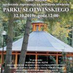 [Krynica – Zdrój]: Uroczyste otwarcie Parku Słotwińskiego