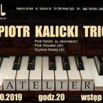 Koncert w Jazz Club: Piotr Kalicki TRIO