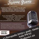 Jesienne Granie – koncert charytatywny