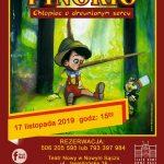 Pinokio – chłopiec o drewnianym sercu: spektakl dla dzieci