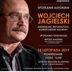 [Krynica – Zdrój]: Spotkanie autorskie – Wojciech Jagielski