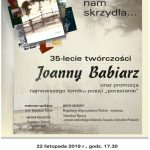 35 lat twórczości Joanny Babiarz