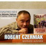 Spotkanie autorskie w SBP – Robert Czerniak