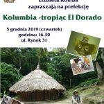 [Muszyna]: Kolumbia – tropiąc El Dorado