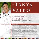 [Stary Sącz]: Tanya Valko – spotkanie autorskie