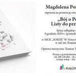 Bój o Polskę. Listy do przyjaciela – Magdalena Ponurkiewicz
