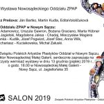 Salon 2019 – doroczna wystawa nowosądeckiego oddziały ZPAP