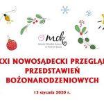XXI Nowosądecki przegląd Przedstawień Bożonarodzeniowych