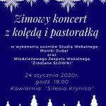 [Krynica – Zdrój]: Zimowy koncert z kolędą i pastorałką