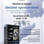 Ostatni Sprawiedliwi…. promocja książki