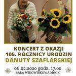 [Piwniczna Zdrój]: 105 urodziny Danuty Szaflarskiej