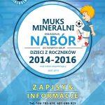 [Krynica – Zdrój]: MUKS Mineralni ogłasza nabór dzieci z roczników 2014 – 2016