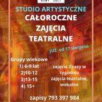 Teatr Nowy Nowy Sącz – całoroczne zajęcia teatralne dla dzieci i młodzieży