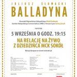 Narodowe Czytanie 2020: Balladyna