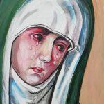 Portret Płaczącej Madonny, autorka: Teresa Rogoń