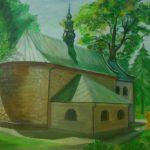 Kościół Narodzenia Najświętszej Marii Panny na starym cmentarzu, autorka: Teresa Rogoń
