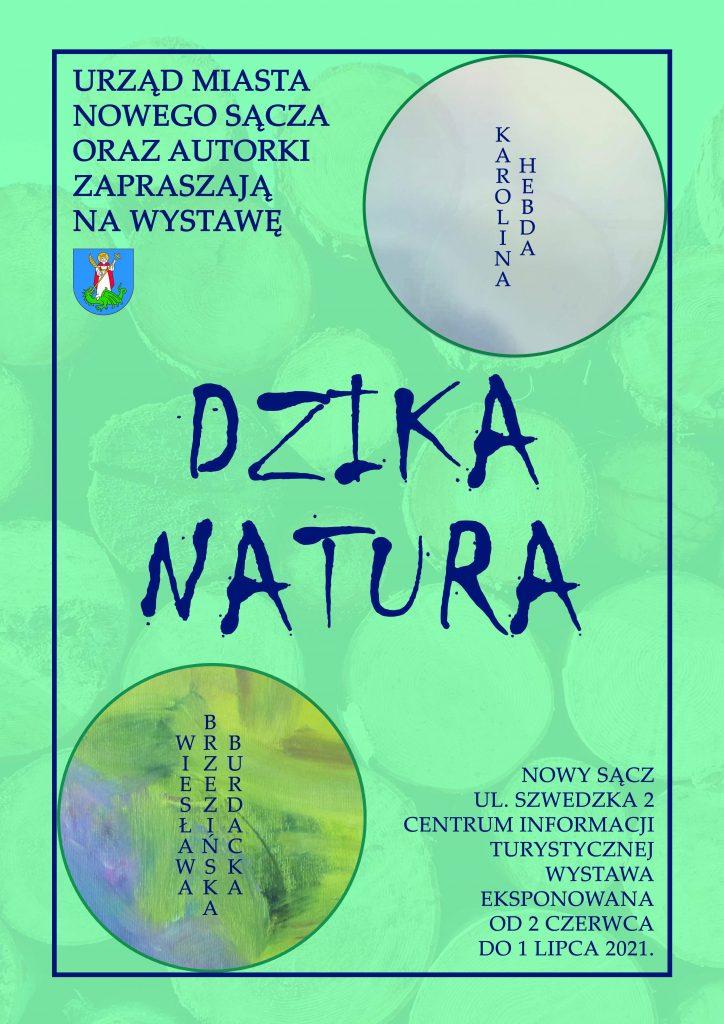 Plakat wystawy malarstwa